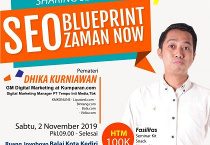 SHARING SESSION #JURAGANONLINE SEO Blueprint Zaman Now