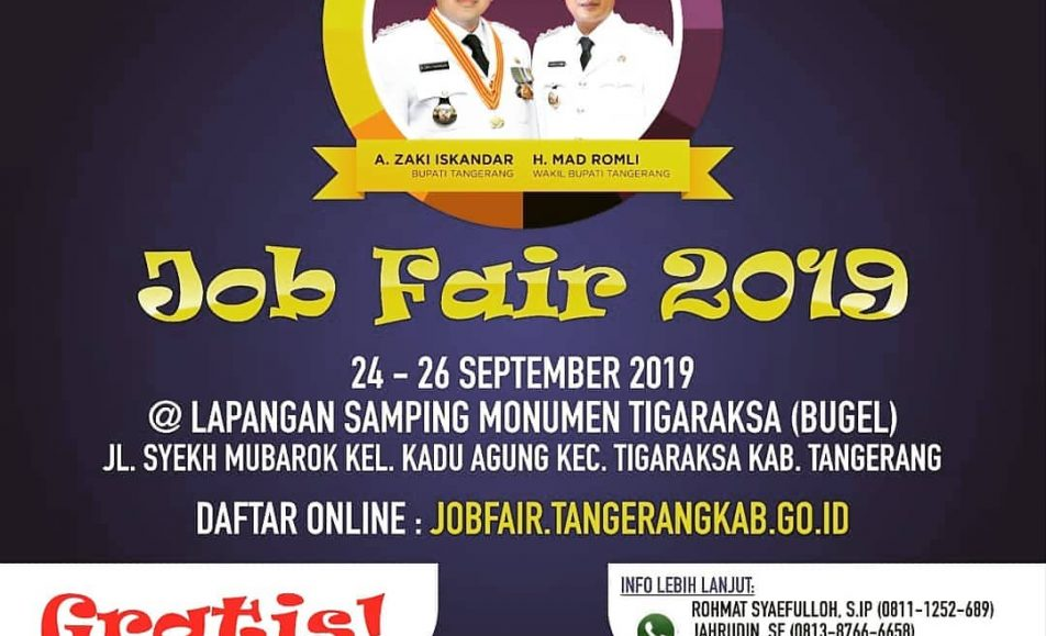 Job Fair Tangerang September 2019