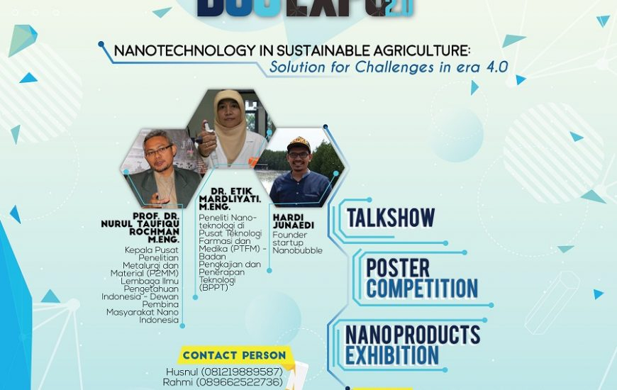 BSC Expo 2.0 – Nanotechnology in Sustainable Agriculture