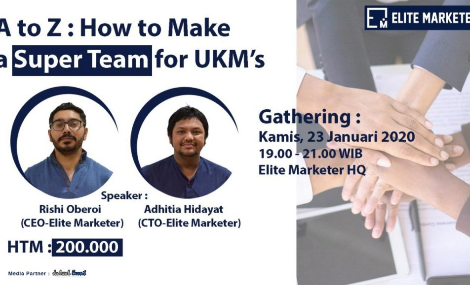 A to Z How To Make a Super Team for UKMs