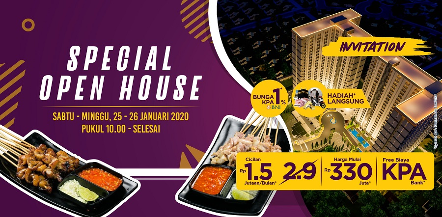 Cimanggis City Special Open House