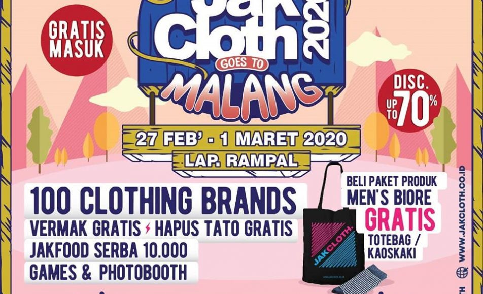 JakCloth Goes to Malang 2020