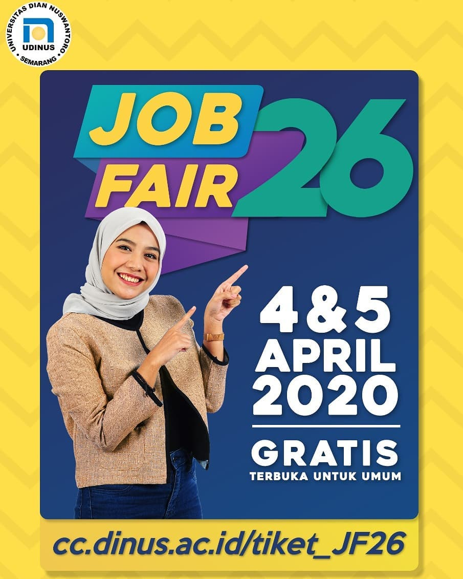 Job Fair UDINUS April 2020