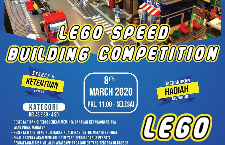 LEGO SPEED BUILDING COMPETITION